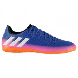 Adidas Messi 16.3 Mens Indoor Court Trainers (Blue-Pink)