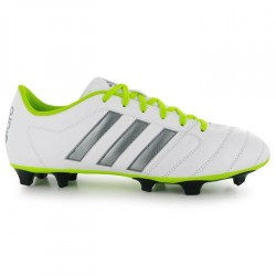 Adidas Gloro 16.2 FG Mens Football Boots (White-Silver)