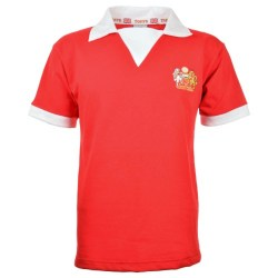 Manchester United 1970s Retro Football Shirt