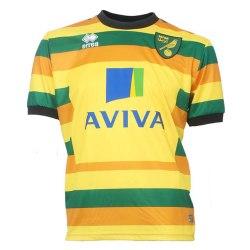 2015-2016 Norwich City Errea Third Football Shirt