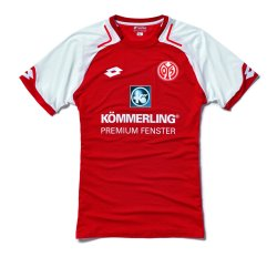 2017-2018 FSV Mainz 05 Lotto Home Football Shirt