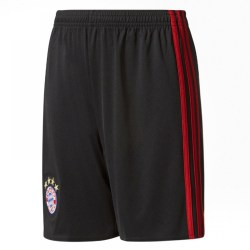 2017-2018 Bayern Munich Adidas Home Goalkeeper Shorts (Black) - Kids