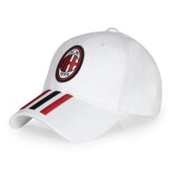 2017-2018 AC Milan Adidas 3S Cap (White)