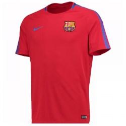 2017-2018 Barcelona Nike Training Shirt (Red) - Kids