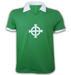 Northern Ireland 1977 Short Sleeve Retro Shirt 100% cotton
