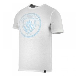 2017-2018 Man City Nike Core Crest Tee (White)