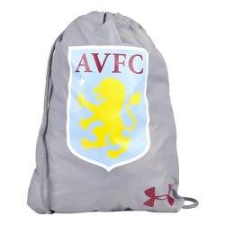 2017-2018 Aston Villa UA Gym Bag (Grey))