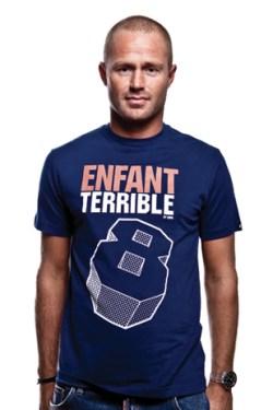 Enfant Terrible T-Shirt // Navy Blue 100% cotton