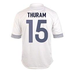 2012-13 France Euro 2012 Away (Thuram 15)
