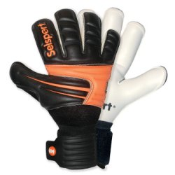 Extreme 4 Deep Emboss Goalkeeper Gloves Black/Orange