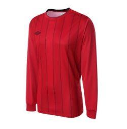 Umbro Continental LS Teamwear Shirt (red)