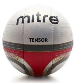 Tensor 10 Panel Training Football White/Maroon
