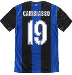 2012-13 Inter Milan Nike Home Shirt (Cambiasso 19) - Kids