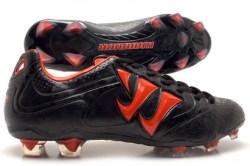 Skreamer Combat FG Football Boots Black/Spicy Orange