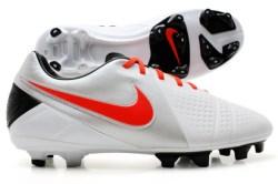 CTR360 Libretto III FG Football Boots White/Total Crimson/Silver/Black
