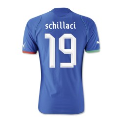 2013-14 Italy Home Shirt (Schillachi 19) - Kids