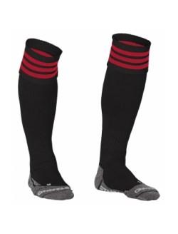 Stanno Ring Football Socks (black-red)