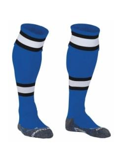 Stanno League Football Socks (blue-white-black)