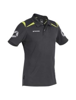 Stanno Forza Polo Shirt (black-yellow)