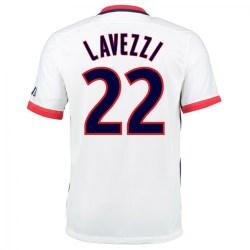 2015-16 PSG Nike Away Kit (Lavezzi 22)
