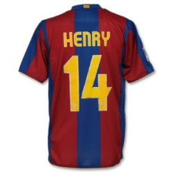 07-08 Barcelona home (with official Henry printing)