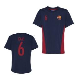Official Barcelona Training T-Shirt (Navy) (Xavi 6)