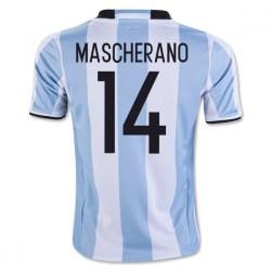2016-17 Argentina Home Shirt (Mascherano 14)