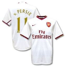 07-08 Arsenal away (V.Persie 11)