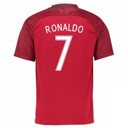 2016-17 Portugal Home Shirt (Ronaldo 7) - Kids