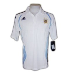 07-08 Argentina Polo Shirt (white)