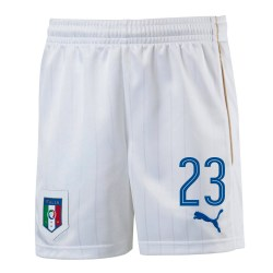 2016-17 Italy Home Shorts  (23) - Kids