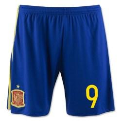 2016-17 Spain Home Shorts (9)