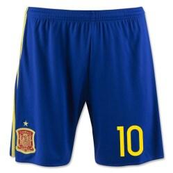 2016-17 Spain Home Shorts (10)