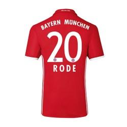 2016-17 Bayern Home Shirt (Rode 20) - Kids