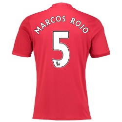 2016-17 Manchester United Home Shirt (Marcos Rojo 5)