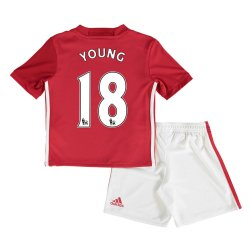 2016-17 Man United Home Mini Kit (Young 18)
