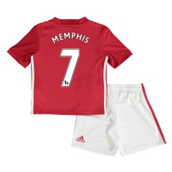 2016-17 Man United Home Baby Kit (Memphis 7)