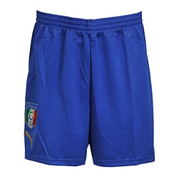 08-09 Italy home shorts - Kids