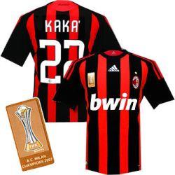 08-09 AC Milan Champions home (Kaka 22)