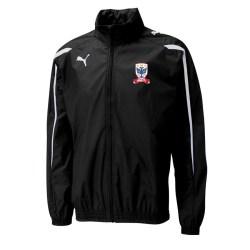 2012-13 Airdrie United Puma Rainjacket (Black) - Kids
