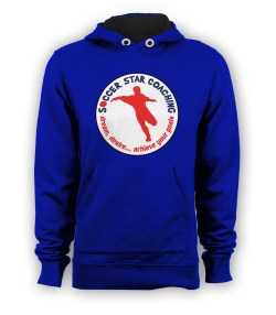 Soccer Star Coaching Dream Desire Hoody (Blue)