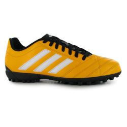 adidas Goletto Mens Astro Turf Trainers (Solar Gold-White)