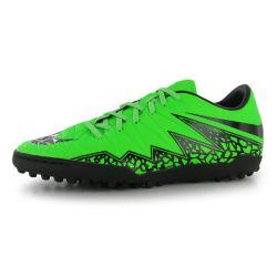 Nike Hypervenom Phelon Astro Turf Trainers (Green-Black)