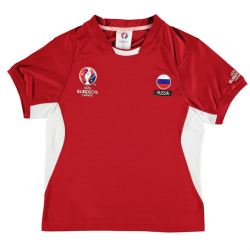 Russia UEFA Euro 2016 Poly Training Tee (Red) - Kids