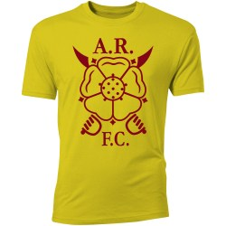 Albion Rovers Core Logo T-Shirt (Yellow) - Kids