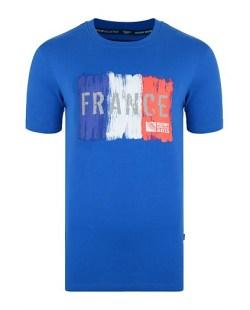 France Rwc 2015 Rugby T-shirt (blue)