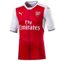 2016-2017 Arsenal Puma Home Authentic Football Shirt