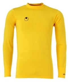 Uhlsport Long Sleeve Baselayer Shirt (yellow)