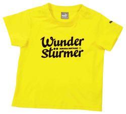 2015-2016 Borussia Dortmund Puma Minicats Tee (Yellow) - Infants