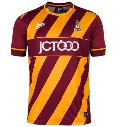 2016-2017 Bradford City Avec Home Football Shirt